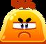 Emoji Angry Lava Blob