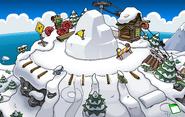 Festival of Snow 2015 construction Ski Hill