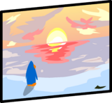 Sunset Painting sprite 001