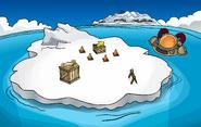 April Fools' Party 2011 Iceberg construction