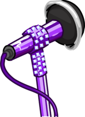 Glitter Microphone clothing icon ID 5463