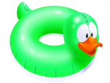 Patito Inflable Verde