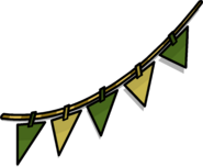 Green Triangle Pennants sprite 002