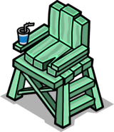 Lifeguard Chair sprite 001