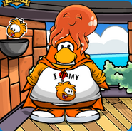 Orange Puffle Mariocart25