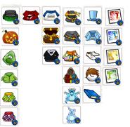 Unlocked Items