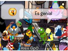 Kermit platicando