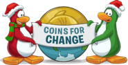 Logo Coins for Change 2012