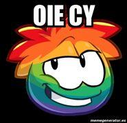 Oie-Cy-Puffle-Multicolor