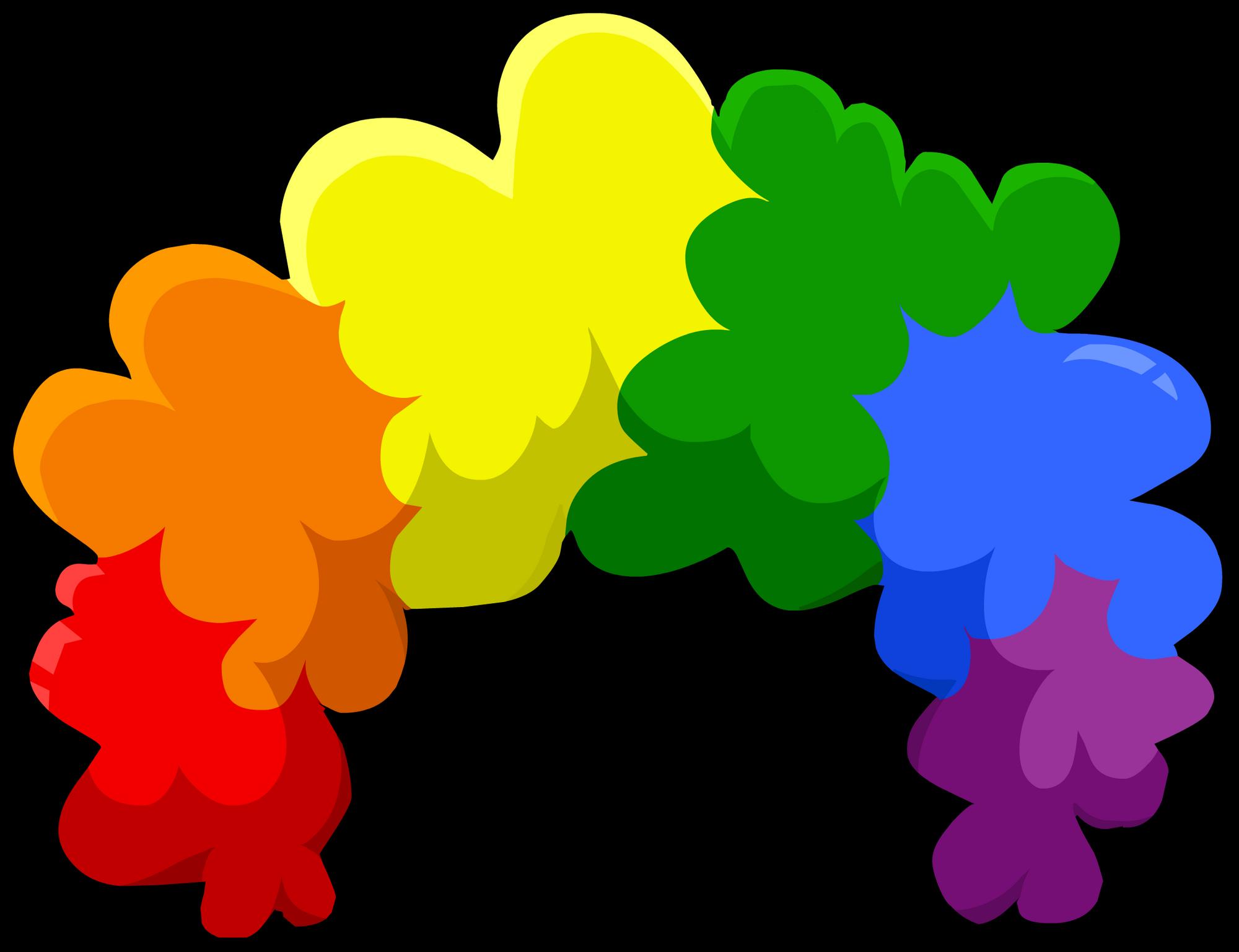77b1ddca9eb Rainbow Fro
