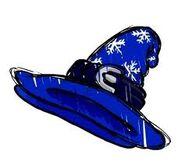 Blizzard Wizard Hat concept