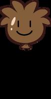 Brown Puffle Balloon icon