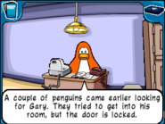 Clerk other penguins