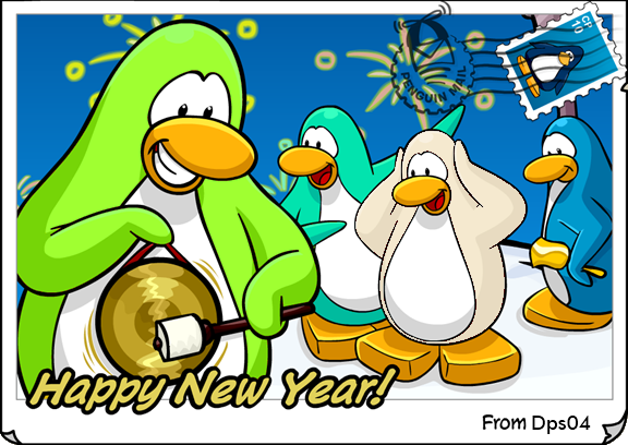 filedps new year postcardpng
