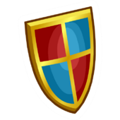Medieval Shield Pin
