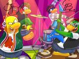 Fondo de la Penguin Band (ID 9251)