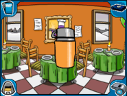 Pizza Parlor thermos