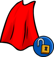 Red Cape clothing icon ID 10301