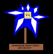 SpongebobAgentNewRecruitAward