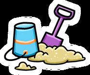 Beach Day Pin icon