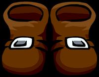 Botas de Pirata Marrones icono