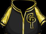 Gold Letterman Jacket