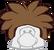 Gorro de Puffle Café icono