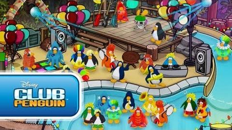 "Club Penguin Cadence and the Penguin Band - ""Party In My Iggy"" (Official Music Video)"