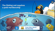 Fishing Rod Membership Error