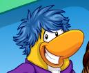 Pinguino usando pos