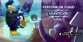SoundStudio Party ad