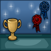 First Prize Puffle Background photo