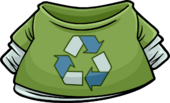 Green Recycle T-Shirt icon