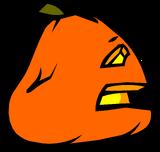 Sad Jack-O-Lantern sprite 006