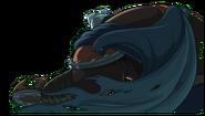 Tusk de espaldas