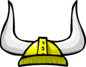 Gold Viking Helmet clothing icon ID 460 (larger file)