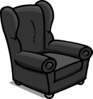 Plush Gray Chair sprite 008