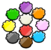 Puffle Trivia Pin icon