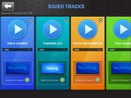 Soundstudio app saved tracks