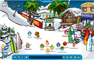 Summer ski village
