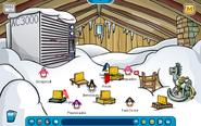 Winter Lodge Attic