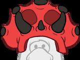 Gorro de Puffle Triceratops