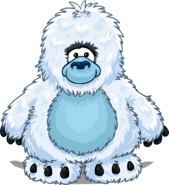 Yeti Costume from a Player Card