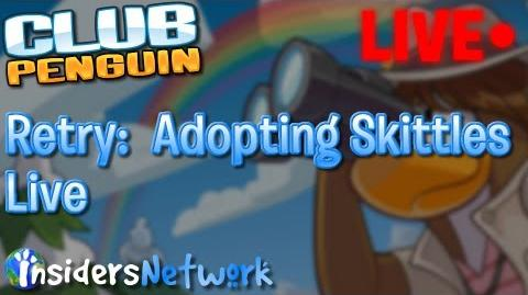 Club Penguin Adopting Skittles, Meeting PH Live Stream (It worked!)