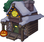 Halloween Party 2015 Ski Lodge exterior