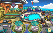 Puffle Hotel Roof