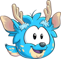 Puffle blue1016 paper