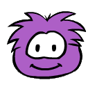 Purple Puffle old look