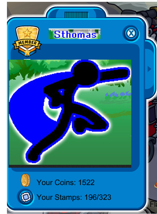 Sthomas player card