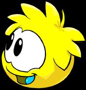 Yellow PuffleLookingLeft2